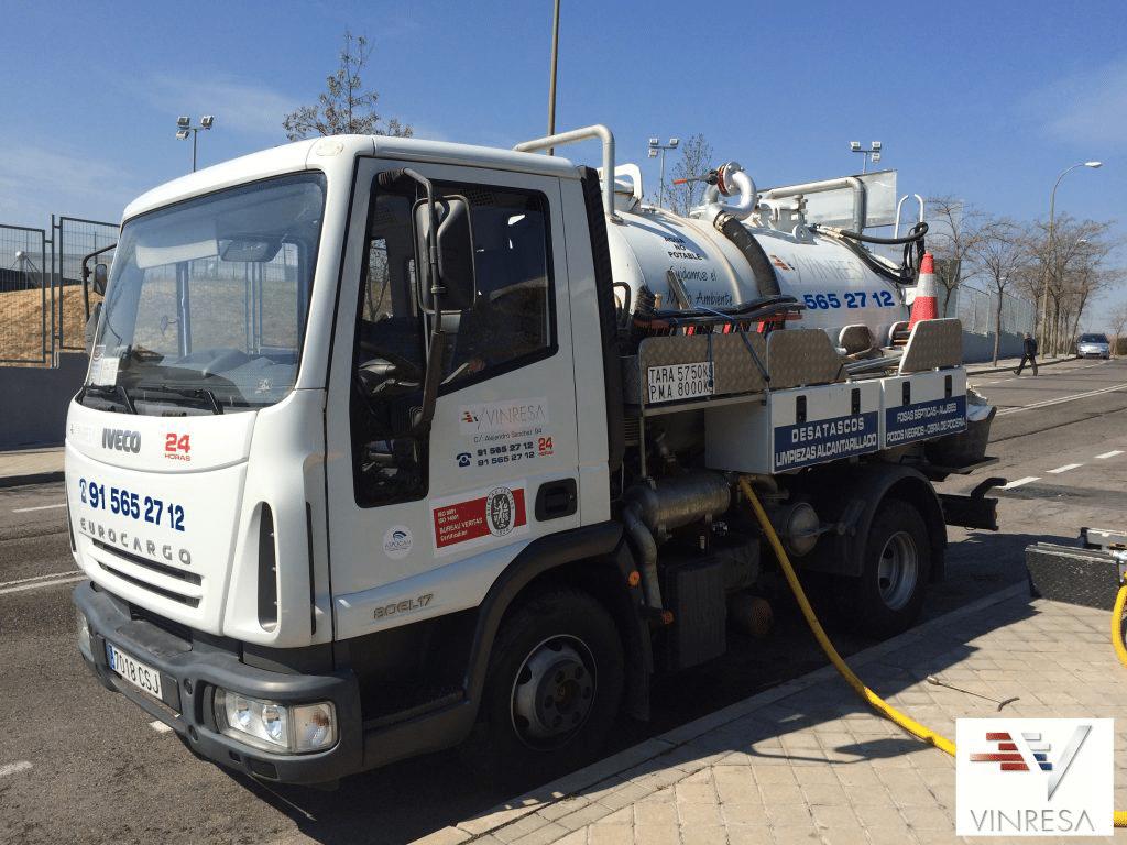 Poceros en Madrid con camiones propios
