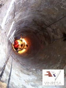 Rehabilitación de tuberías y pozos en Madrid
