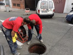 Desatrancos en Madrid, alcantarillas, pozos