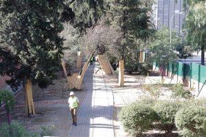 Comienzan obras parque Bravo Murillo del Canal de Isabel II