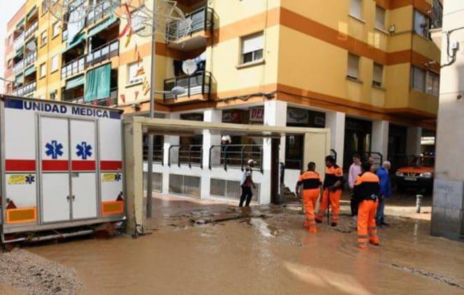Arganda lluvias torrenciales Poceros Madrid Vinresa