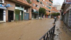 Inundaciones Arganda del Rey Vinresa Poceros Madrid