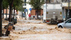 Nueva Dana en España con fuertes lluvias torrenciales, posibilidad de inundaciones poceros en Madrid Vinresa