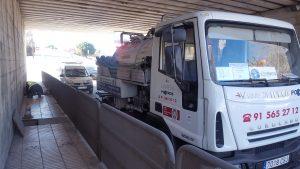 Vinresa Poceros Madrid Camiones de Pocería Obras